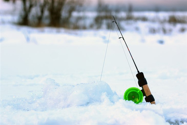 Ice Rods and Reels