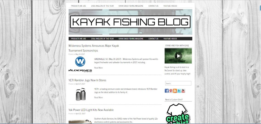 Kayak Fishing Blog