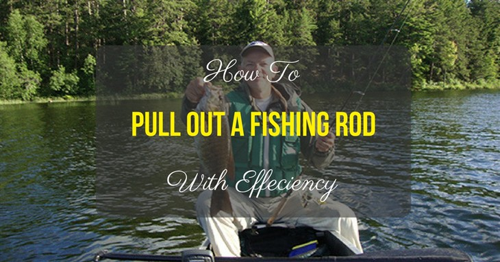 How To Pull Out A Fishing Rod With Efficiency