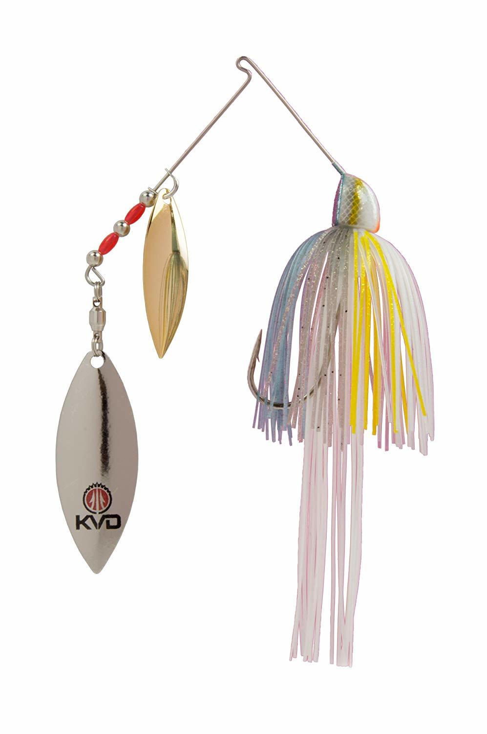 best spinnerbait reviews finesse kvd
